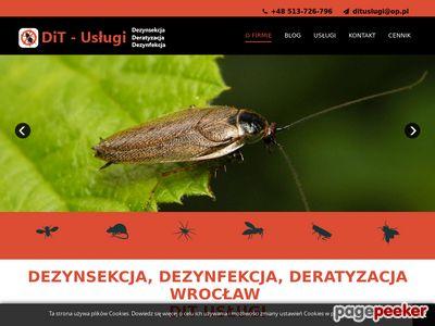 Deratyzacja Wrocław - DiT Usługi