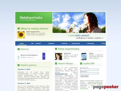 Dieta kopenhaska - Kompendium