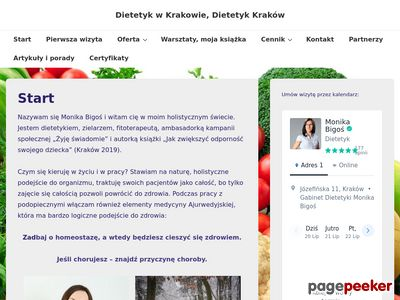 Dietetyk w Krakowie, Dietetyk Kraków