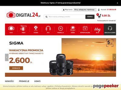 Digital24 - internetowy sklep ze sprzętem fotograficznym