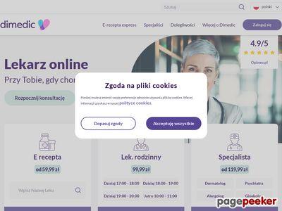 Konsultacje lekarze online - dimedic.eu
