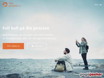 Dina Pensioner hjälper dig med din pension - http://www.dinapensioner.se