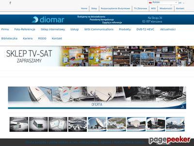 Anteny Instalacje TV-SAT- Diomar