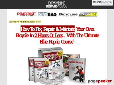 DIYBikeRepair® Easy Bicycle Repair Course With 200 Videos and Bike Repair Manuals