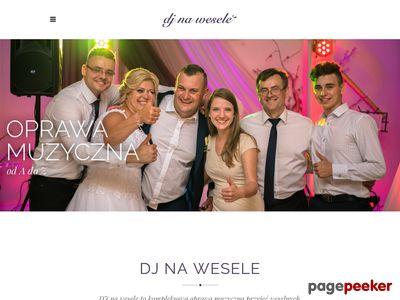 Muzyka na wesele