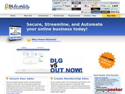 DLGuard – Download page protector, create expiring download links