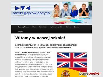 Szkoła języków obcych w Głogowie
