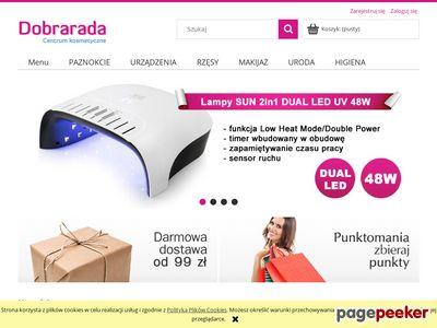 Dobrarada.com.pl - żele uv, tipsy, rzęsy