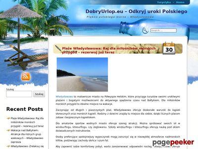 Baza DobryUrlop.eu - pokoje, wczasy nad morzem