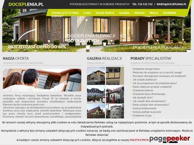 Docieplenia domów w Warszawie - www.docieplenia.pl