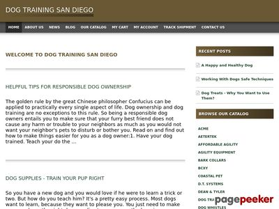 Read more about: Dog Training San Diego