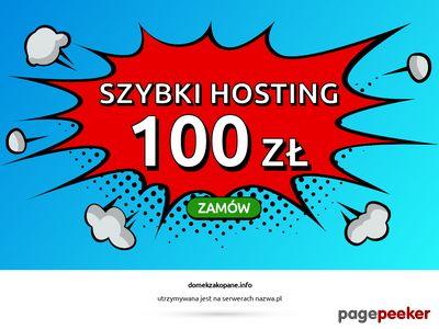 Domki do wynajęcia w Zakopanem