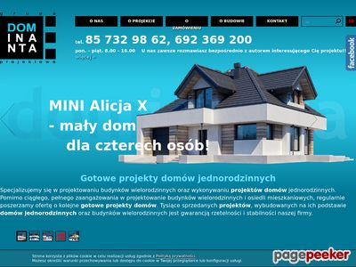 Projekty domów dominanta.pl