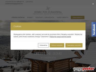 Słoneczne Domki Krynica - Zdrój :: Witamy