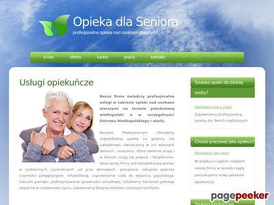 Opieka dla Seniora - Novum – opieka, pomoc domowa, sprzątanie