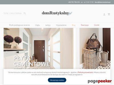 Dom Rustykalny - płytki do Twojego wnętrza.
