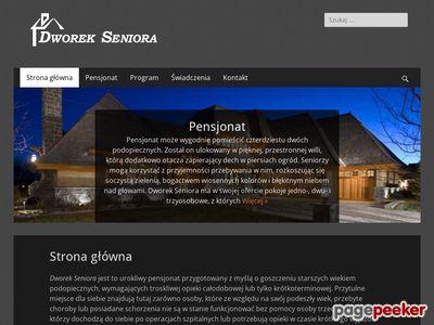 Dom Starości - Dworek Seniora - dom spokojnej starości Płońsk - inwestycja na sprzedaż