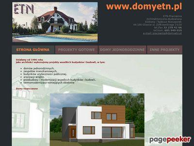 Projekty domów Bytom, architekci śląsk