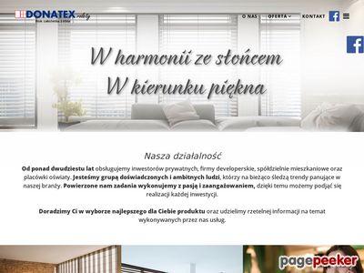 Rolety - Donatex - remonty - Warszawa