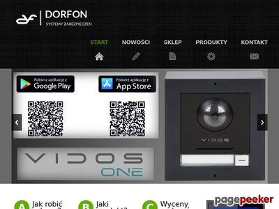 DOMOFONY DORFON