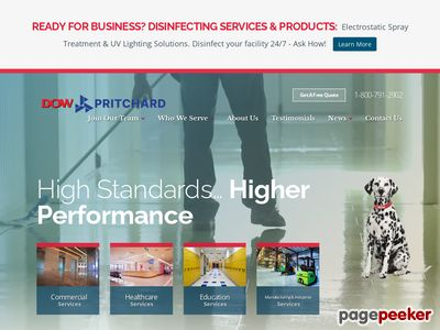 Dow Building Services Screenshot