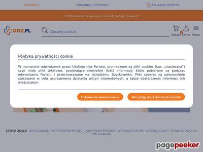 Encyklopedia leków i chorób - www.doz.pl