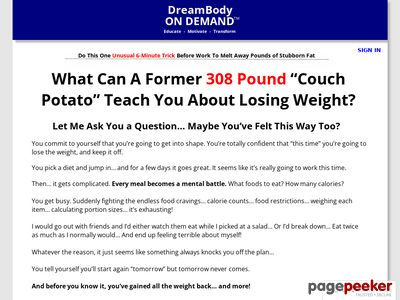 "What Can A Former 308-Pound ""Couch Potato"" Teach You About Losing Weight?"