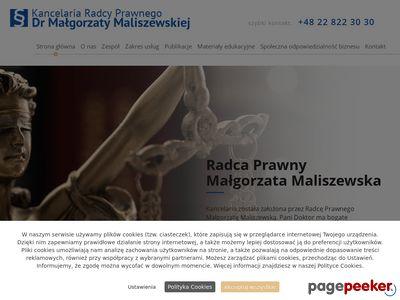 M. MALISZEWSKA Prawnik online