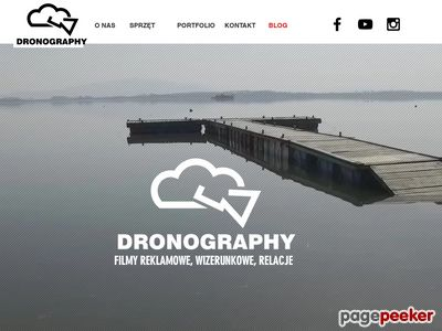 Filmowanie z powietrza dronem