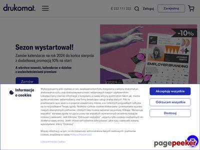 Drukomat - cyfrowa i offsetowa drukarnia online