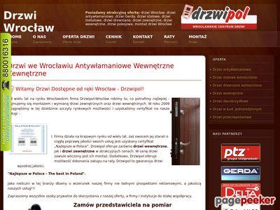 Drzwi stalowe Wrocław