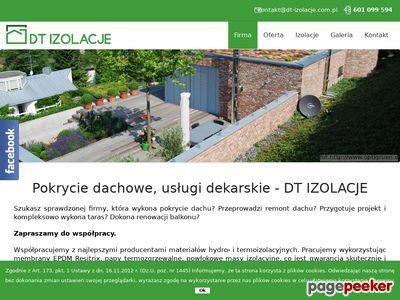 DT Izolacje - Pokrycie dachowe mazowieckie