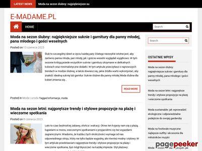 E-madame.pl - porady dla kobiet