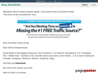 Easy Backlinks : Get Backlinks