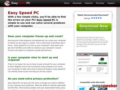 Easy Speed PC – Optimize Your PC With Ease