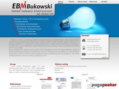 EBM Bukowski - elektryk Warszawa