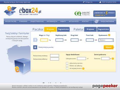 Tani kurier Ebox24