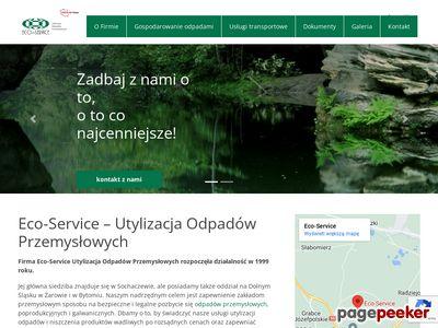 ECO-SERVICE utylizacja odpadów przemysłowych
