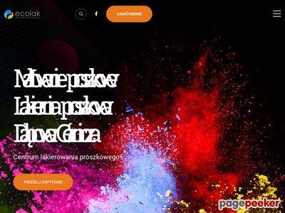 Www.ecolak.pl - Malowanie Proszkowe Gliwice