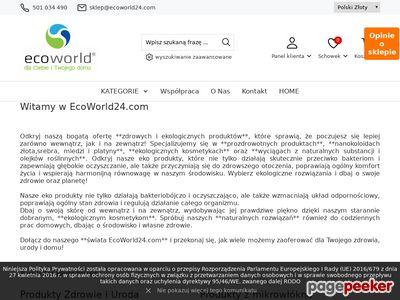 Eko kosmetyki i suplementy diety