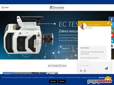 EC Test Systems maszyny elektroniczne