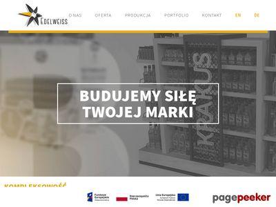 Stand kartonowy | www.edelweiss.com.pl
