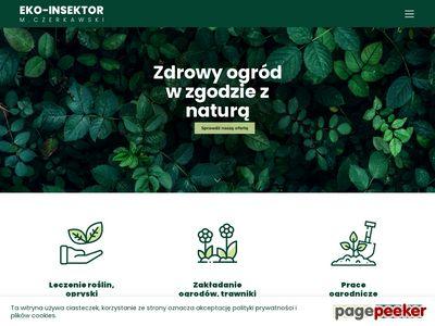 Leczenie ogrodów Szczecin