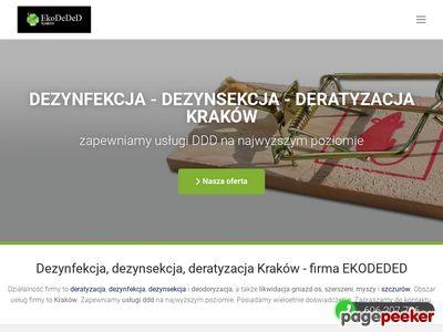 EkoDeDeD Dezynfekcja Dezynsekcja Deratyzacja