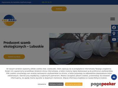 MARO zbiorniki do szamba plastikowego producent