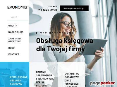 "biuro rachunkowe, rewidenci - ""Ekonomist"" Katowice"