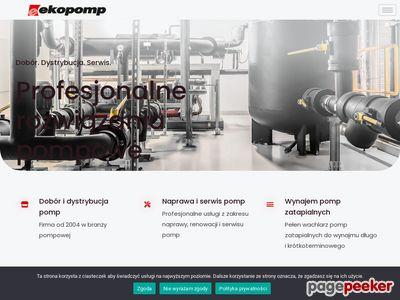 Dystrybucja i dobór pomp przemysłowych - ekopomp.pl