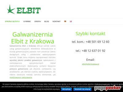 ELBIT Anodowanie Małopolska