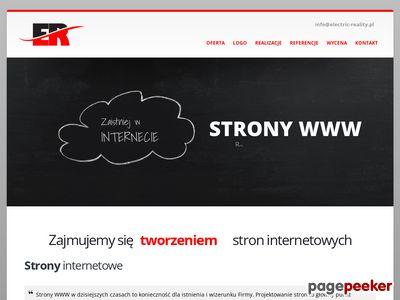 Electric-reality.pl Tworzenie Stron Ciechanów Mława