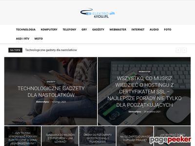 www.elektro4you.pl - Komputery, RTV, AGD, Foto